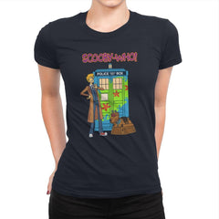 Scooby-Who - Womens Premium - T-Shirts - RIPT Apparel