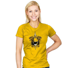 Croceus Smilodon Fatalis - Zordwarts - Womens - T-Shirts - RIPT Apparel