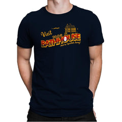 Visit the Bathhouse - Mens Premium - T-Shirts - RIPT Apparel