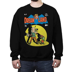 DREAMLAND - Crew Neck Sweatshirt - Crew Neck Sweatshirt - RIPT Apparel