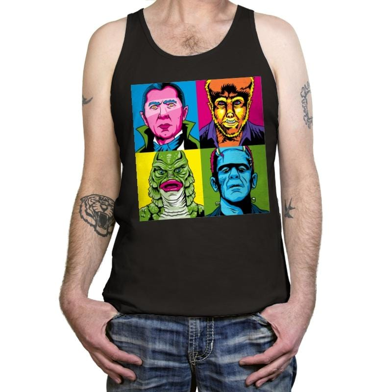Pop Monster - Tanktop - Tanktop - RIPT Apparel
