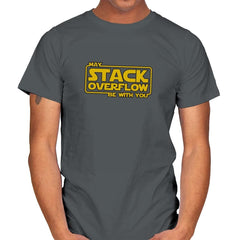 May Stack Be With You - Mens - T-Shirts - RIPT Apparel
