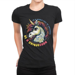 Uniquecorn - Womens Premium - T-Shirts - RIPT Apparel