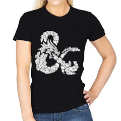 Dice & Dragons - Anytime - Womens - T-Shirts - RIPT Apparel