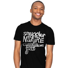 Smuggler by Nature - Mens - T-Shirts - RIPT Apparel