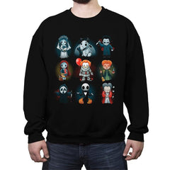 Nerdy Halloween - Crew Neck Sweatshirt - Crew Neck Sweatshirt - RIPT Apparel