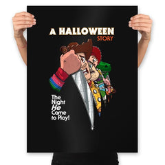 A Halloween Story - Prints - Posters - RIPT Apparel