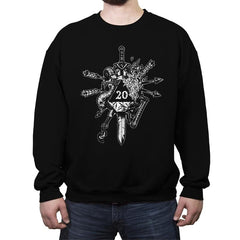 High Rollin - Crew Neck Sweatshirt - Crew Neck Sweatshirt - RIPT Apparel