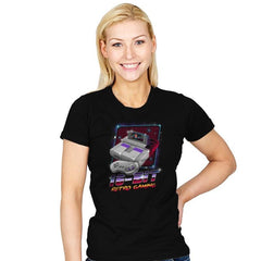16-Bit Retro Gaming - Womens - T-Shirts - RIPT Apparel