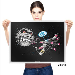 Termina Trench Run - Prints - Posters - RIPT Apparel