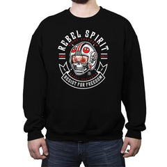Rebel Since 1977 - Crew Neck Sweatshirt - Crew Neck Sweatshirt - RIPT Apparel