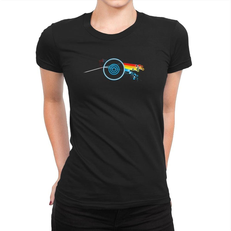 Dark Side of the CPU Exclusive - Womens Premium - T-Shirts - RIPT Apparel