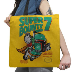 Super Bounty Hunter 7 Exclusive - Tote Bag - Tote Bag - RIPT Apparel