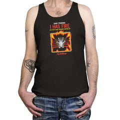 I Has Fire - Tanktop - Tanktop - RIPT Apparel