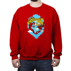 Super Buddies - Crew Neck Sweatshirt - Crew Neck Sweatshirt - RIPT Apparel