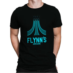 Flynn's Arcade - Best Seller - Mens Premium - T-Shirts - RIPT Apparel