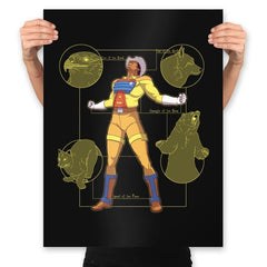 The Marshal - Prints - Posters - RIPT Apparel