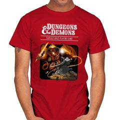 Dungeons & Dwarves - Mens - T-Shirts - RIPT Apparel