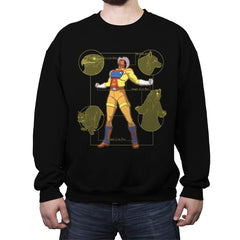 The Marshal - Crew Neck Sweatshirt - Crew Neck Sweatshirt - RIPT Apparel
