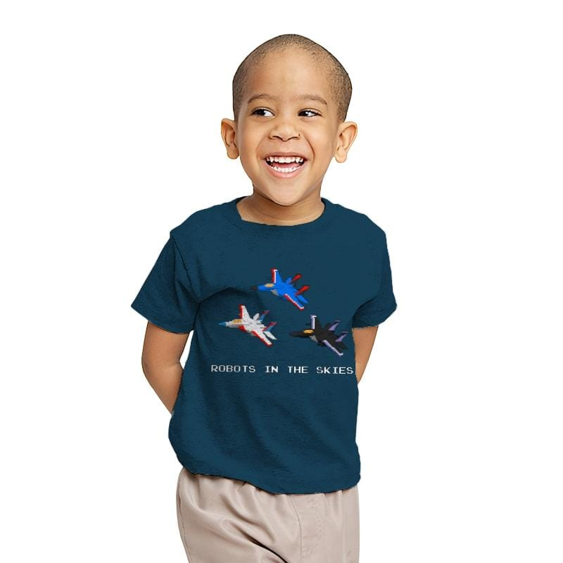 Robots in the Skies - Youth - T-Shirts - RIPT Apparel