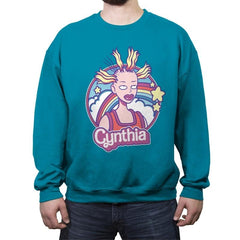 Cynthia Doll - Crew Neck Sweatshirt - Crew Neck Sweatshirt - RIPT Apparel