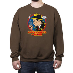 Adventures in Noir - Crew Neck Sweatshirt - Crew Neck Sweatshirt - RIPT Apparel