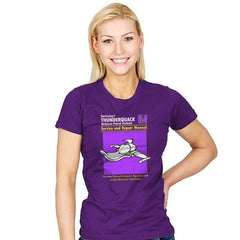 ThunderQuack Manual - Womens - T-Shirts - RIPT Apparel