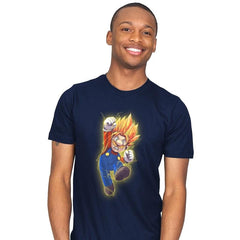 Super Mario Saiyan - Mens - T-Shirts - RIPT Apparel