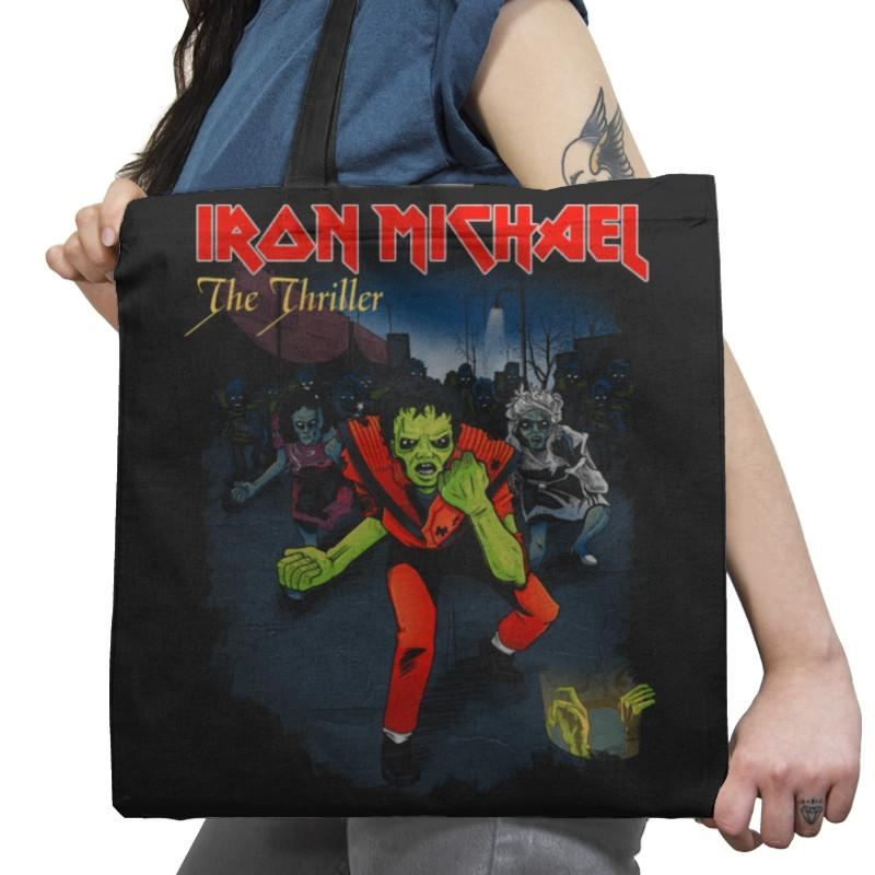 Iron Michael: The Thriller Exclusive - Tote Bag - Tote Bag - RIPT Apparel