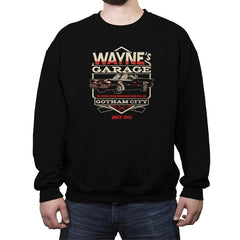 Wayne's Garage - Crew Neck Sweatshirt - Crew Neck Sweatshirt - RIPT Apparel