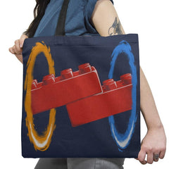 Now Your Building With Portals Exclusive - Tote Bag - Tote Bag - RIPT Apparel
