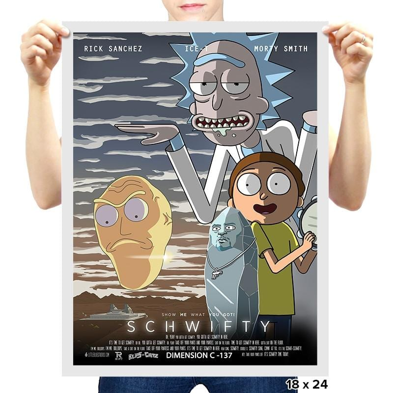 SCHWIFTY - RIPTcademy2017 - Prints - Posters - RIPT Apparel