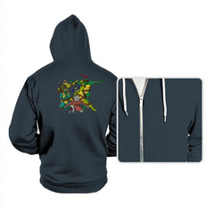 Turtle Force - Hoodies - Hoodies - RIPT Apparel