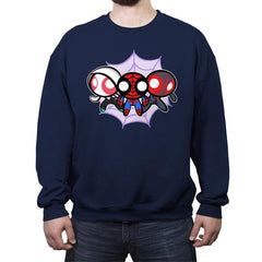 The Powerpuff-Spiders - Crew Neck Sweatshirt - Crew Neck Sweatshirt - RIPT Apparel