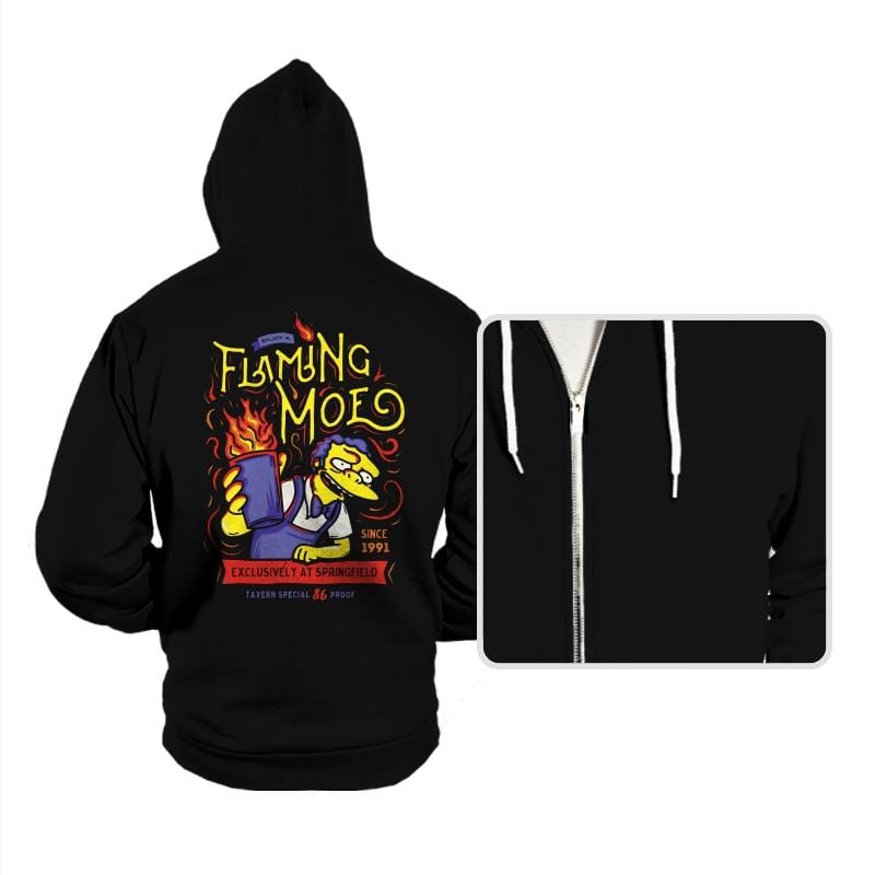 Flaming Moe - Hoodies - Hoodies - RIPT Apparel