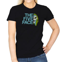 The Five Face Exclusive - Womens - T-Shirts - RIPT Apparel