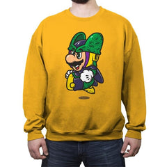 Super Jump Cell - Crew Neck Sweatshirt - Crew Neck Sweatshirt - RIPT Apparel