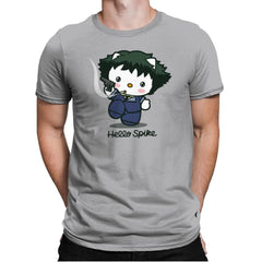 Hello Spike - Mens Premium - T-Shirts - RIPT Apparel