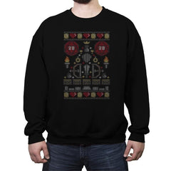 D-20 Sweater - Ugly Holiday - Crew Neck Sweatshirt - Crew Neck Sweatshirt - RIPT Apparel