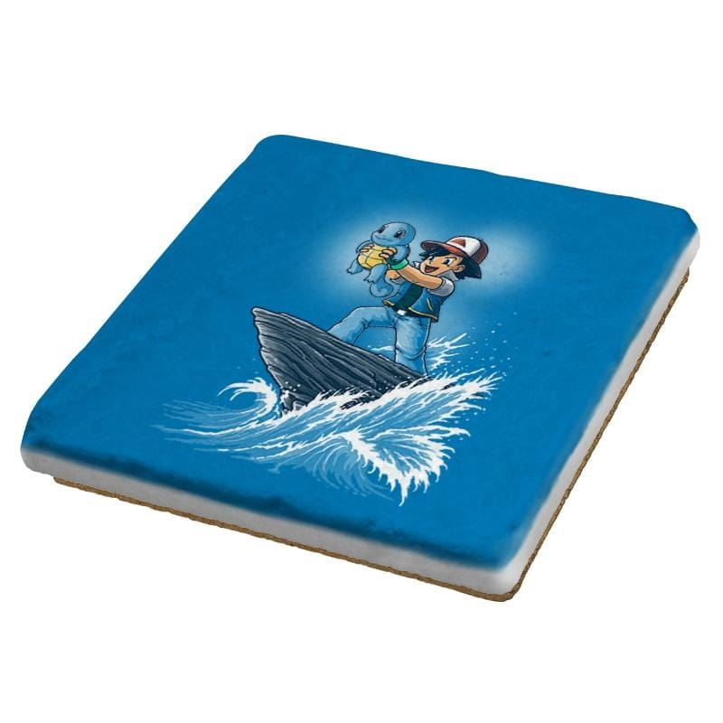 The Water King - Pop Impressionism - Coasters - Coasters - RIPT Apparel