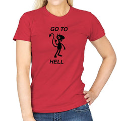 Go To Hell, Do Not Collect $200 - Womens - T-Shirts - RIPT Apparel