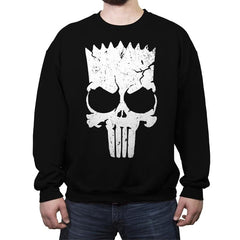 Punish Springfield - Crew Neck Sweatshirt - Crew Neck Sweatshirt - RIPT Apparel