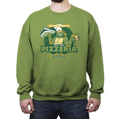 Mikey's Pizzeria - Crew Neck Sweatshirt - Crew Neck Sweatshirt - RIPT Apparel