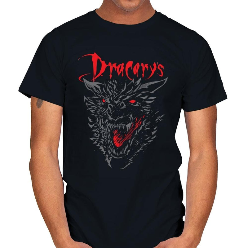 Count Dracarys - Mens - T-Shirts - RIPT Apparel