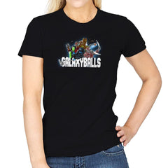 Galaxyballs Exclusive - Womens - T-Shirts - RIPT Apparel