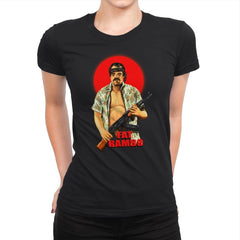 Fat Rambo - Womens Premium - T-Shirts - RIPT Apparel