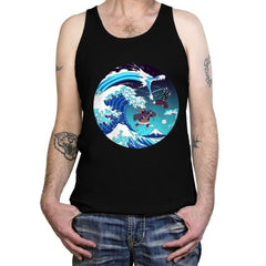 Breath of the Great Wave - Tanktop - Tanktop - RIPT Apparel