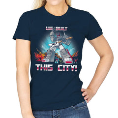 We Built This City! Exclusive - Womens - T-Shirts - RIPT Apparel