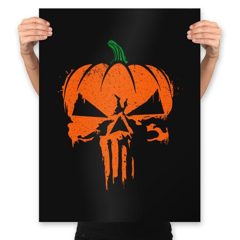 The Pumpkinsher - Prints - Posters - RIPT Apparel