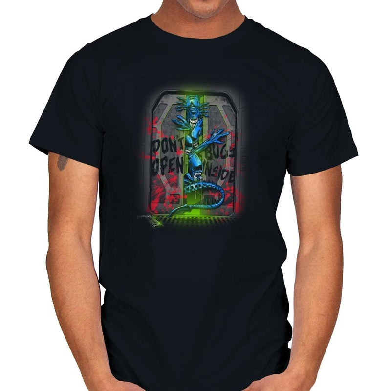 Don't Open Bugs Inside Exclusive - Mens - T-Shirts - RIPT Apparel